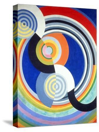 Rythme numéro 2-Robert Delaunay-Stretched Canvas Print
