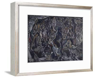 Temple of beauty-Jules Pascin-Framed Giclee Print