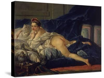 L'Odalisque-Francois Boucher-Stretched Canvas Print