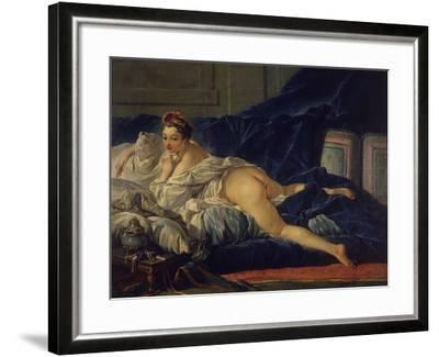 L'Odalisque-Francois Boucher-Framed Giclee Print