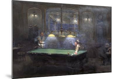 La Partie de billard-Jean B?raud-Mounted Giclee Print