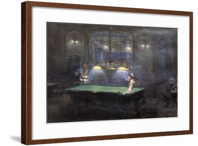 La Partie de billard-Jean B?raud-Framed Giclee Print