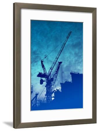 Construction Industry-kgtoh-Framed Art Print