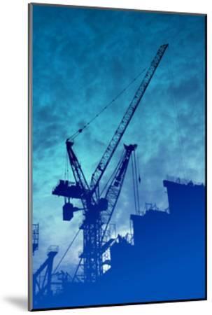 Construction Industry-kgtoh-Mounted Art Print