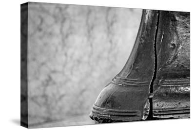 Liberty Bell Closeup--Stretched Canvas Print