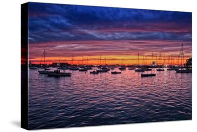 Colorful Sunset Newport Rhode Island--Stretched Canvas Print