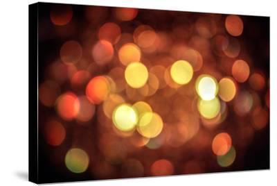 Red and Orange Lights--Stretched Canvas Print