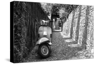 Vespa In Alley Amalfi, Italy--Stretched Canvas Print