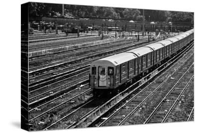 Subway 7 Train Queens NYC--Stretched Canvas Print