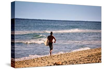 Surfer Boca Raton Florida--Stretched Canvas Print