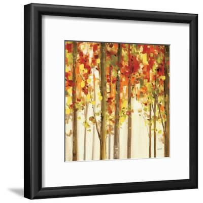 Autumn Forest Study II-Lisa Audit-Framed Giclee Print