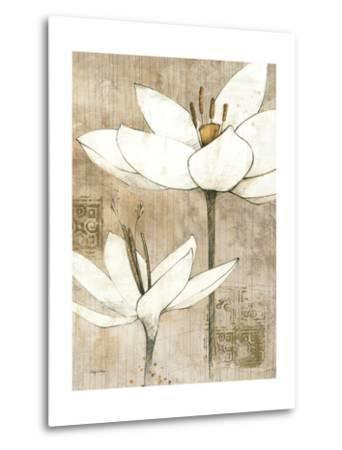 Pencil Floral I-Avery Tillmon-Metal Print
