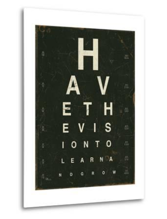 Eye Chart IV-Jess Aiken-Metal Print