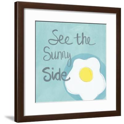 Sunny I-Linda Woods-Framed Art Print