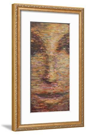 Reflections in Gold-JC Pino-Framed Art Print