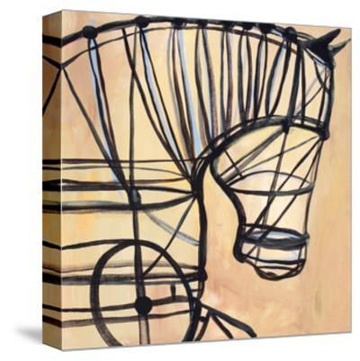 Mechanical Horse-JC Pino-Stretched Canvas Print
