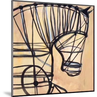 Mechanical Horse-JC Pino-Mounted Art Print
