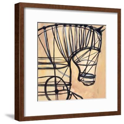 Mechanical Horse-JC Pino-Framed Art Print