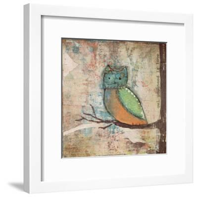 Owl You Need-Cassandra Cushman-Framed Art Print