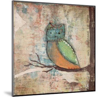 Owl You Need-Cassandra Cushman-Mounted Art Print