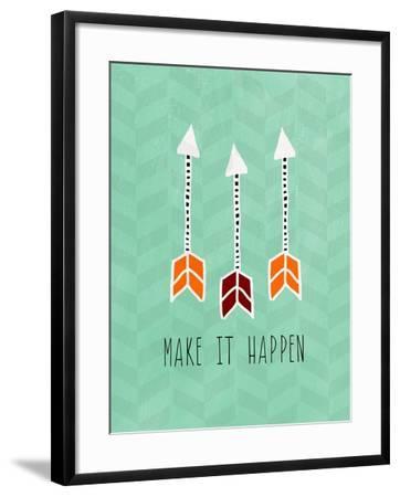 Make it Happen-Linda Woods-Framed Art Print
