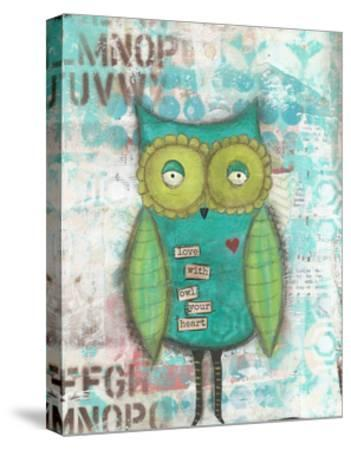 Owl Your Heart-Cassandra Cushman-Stretched Canvas Print