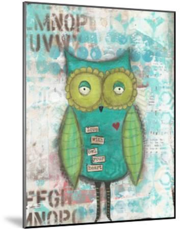 Owl Your Heart-Cassandra Cushman-Mounted Art Print