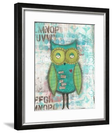 Owl Your Heart-Cassandra Cushman-Framed Art Print
