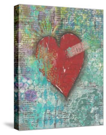 Joy Heart-Cassandra Cushman-Stretched Canvas Print