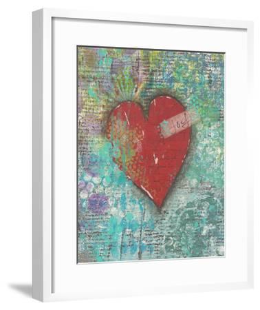 Joy Heart-Cassandra Cushman-Framed Art Print