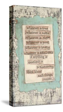 Phillippians-Cassandra Cushman-Stretched Canvas Print