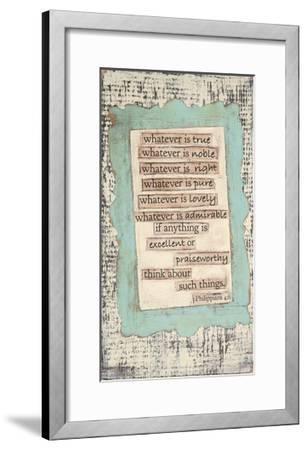 Phillippians-Cassandra Cushman-Framed Art Print