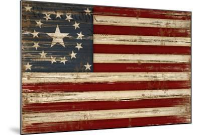 American Flag-Jennifer Pugh-Mounted Art Print