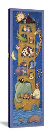 The Five Story Ark-Viv Eisner-Stretched Canvas Print