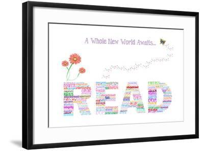 Read- BlownAway-Framed Art Print