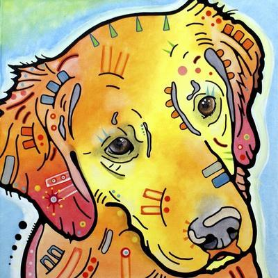 The Golden(ish) Retriever-Dean Russo-Framed Giclee Print