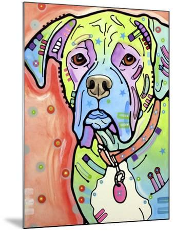 The Boxer-Dean Russo-Mounted Giclee Print