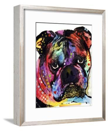 Bulldog-Dean Russo-Framed Giclee Print