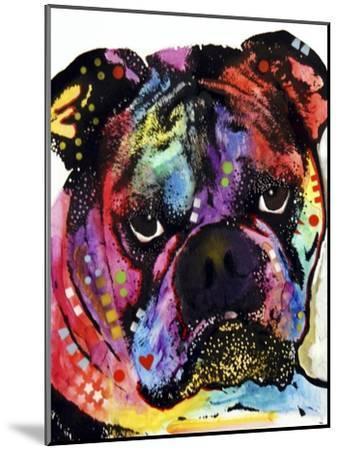 Bulldog-Dean Russo-Mounted Giclee Print
