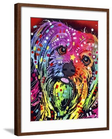 Yorkie-Dean Russo-Framed Giclee Print