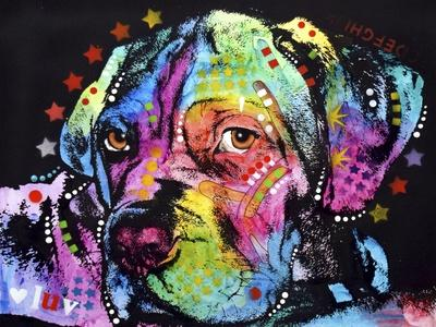 Young Mastiff-Dean Russo-Framed Giclee Print