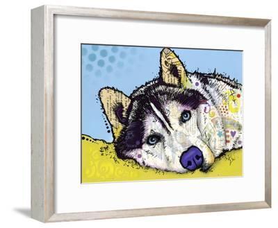 Siberian Husky-Dean Russo-Framed Giclee Print
