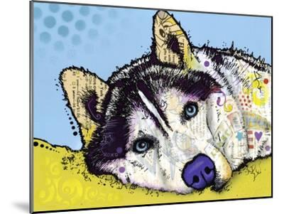 Siberian Husky-Dean Russo-Mounted Giclee Print