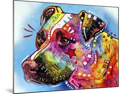 Pit Bull 1059-Dean Russo-Mounted Giclee Print