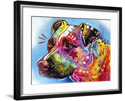 Pit Bull 1059-Dean Russo-Framed Giclee Print