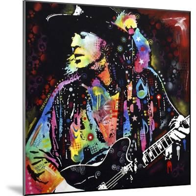 Stevie Ray Vaughan-Dean Russo-Mounted Giclee Print