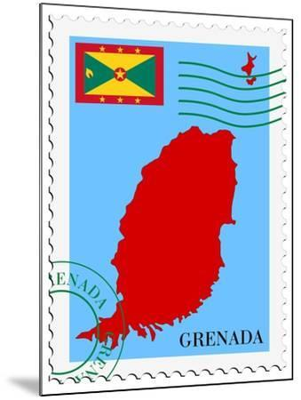 Mail To-From Grenada-Perysty-Mounted Art Print