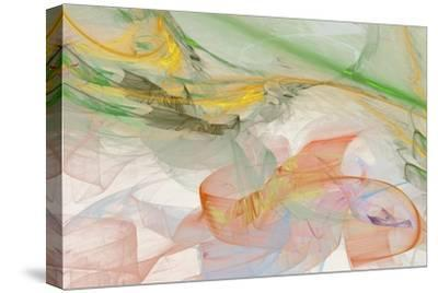Abstraction 10713-Rica Belna-Stretched Canvas Print
