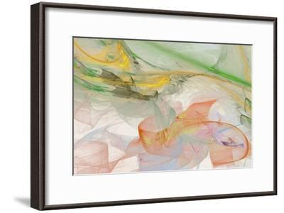 Abstraction 10713-Rica Belna-Framed Giclee Print