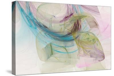 Abstraction 10711-Rica Belna-Stretched Canvas Print